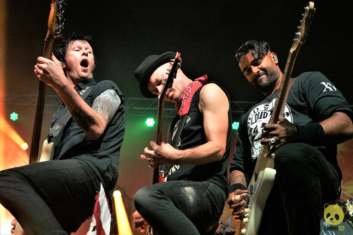 Sum 41 at SOMA by Jackie Ferguson for ListenSD
