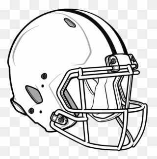 Red Football Helmet Outline Clip Art Transparent Library Football Helmets Drawings Png Download Full Size Clipart 288275 Pinclipart