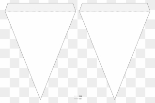 A sequential layout of triangles of alternate or same colour. Triangle Pennant Banner Template Icons Png Free Png Clipart 359026 Pinclipart