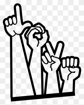 Download File - Ily - Svg - Love You Sign Language Svg Clipart ...