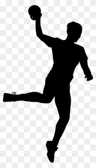 sport handball silhouette png sport