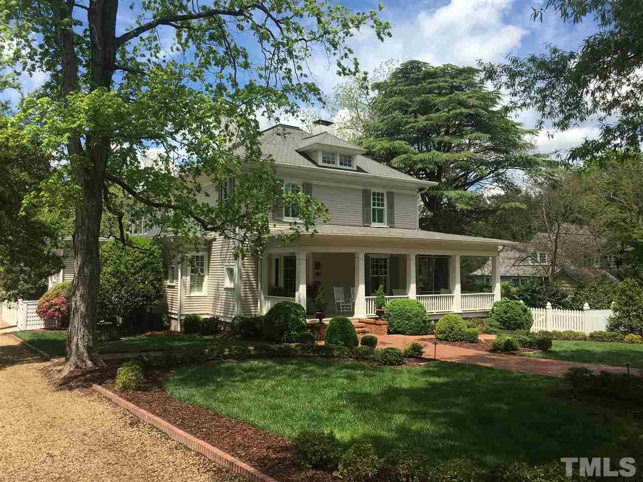 $2,145,000 - 4Br/4Ba -  for Sale in Historic District, Chapel Hill