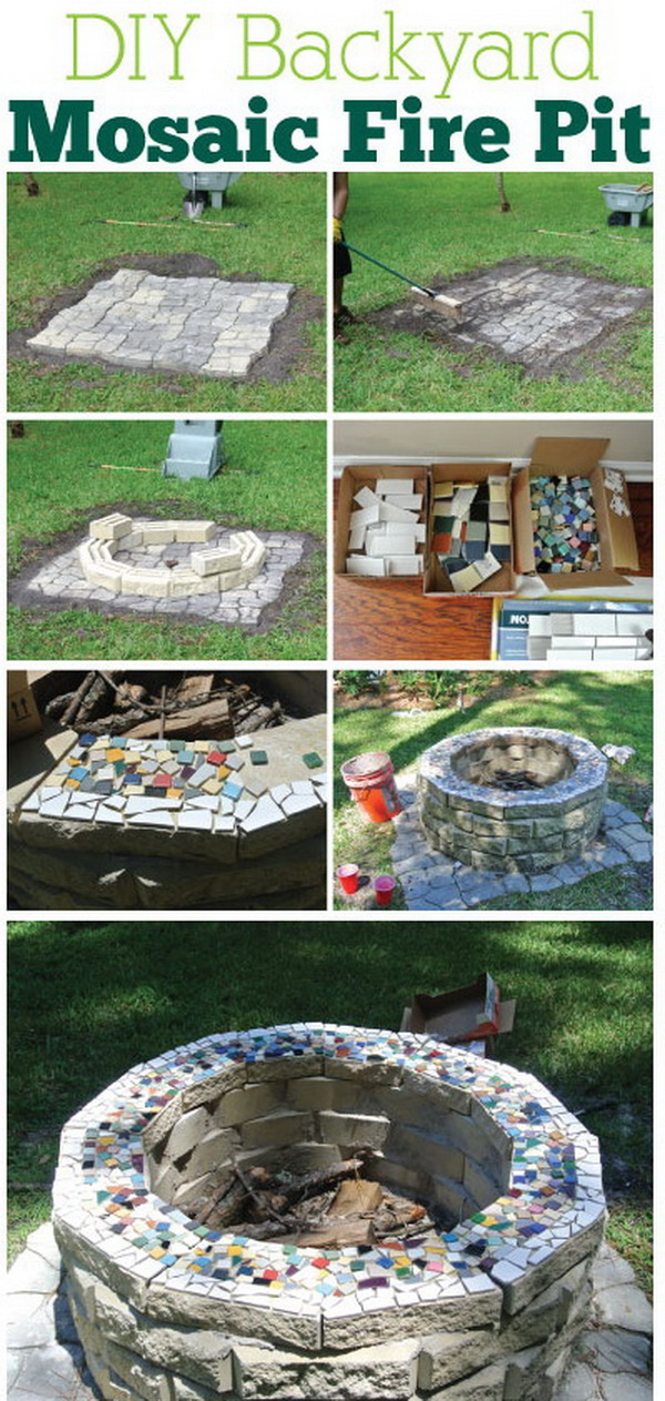 20 DIY Fire Pits for Your Backyard with Tutorials ... on Backyard Fire Pit Ideas Diy id=33695