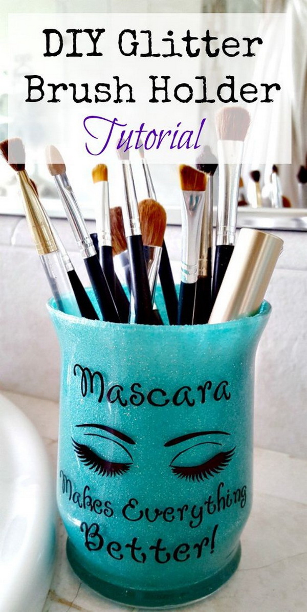 Diy Makeup Storage Ideas And Hacks