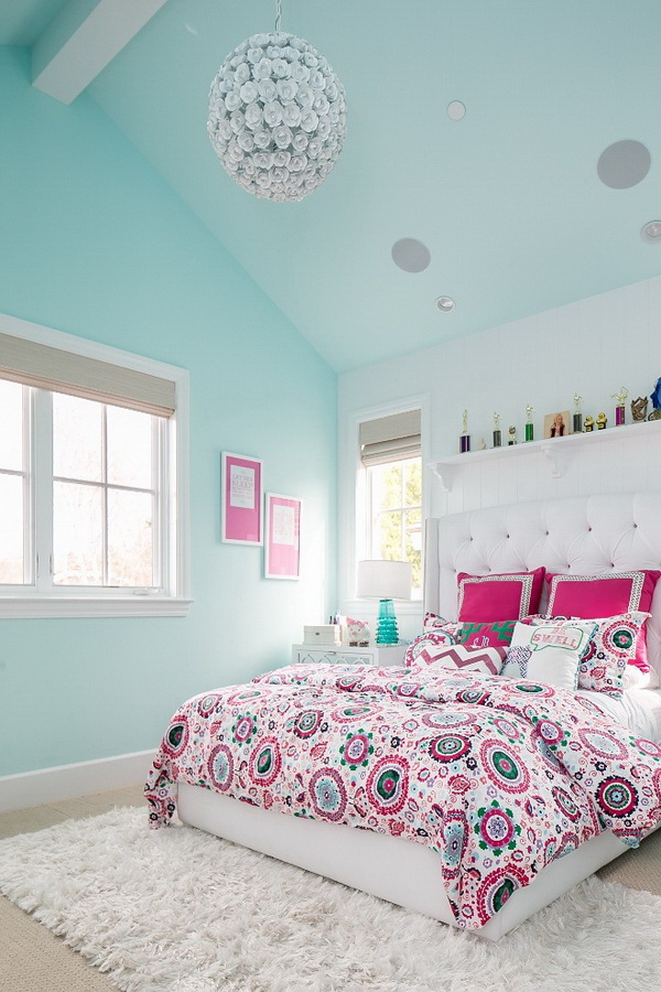 40+ Cool Teenage Girls Bedroom Ideas - Listing More on Teenage Bedroom Ideas  id=48999