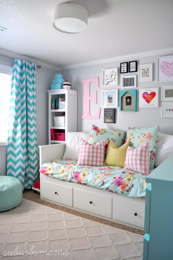 40+ Cool Teenage Girls Bedroom Ideas - Listing More on Teen Room Decorations  id=51592