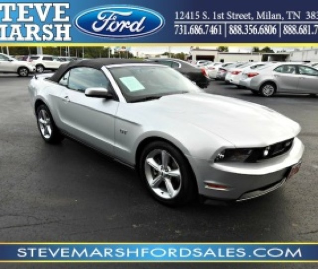 Ford Mustang Gt Convertible For Sale In Milan Tn