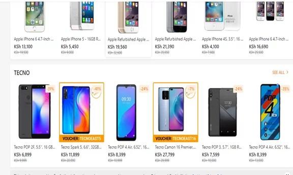 Best smartphones under 10k in Kenya