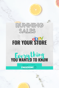 everything you wanted to know about running sales for your ebay store