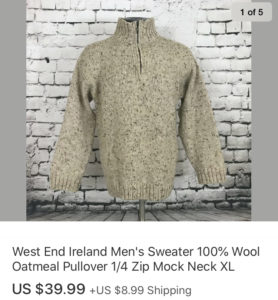 Top Sales February 2020 West End Sweater
