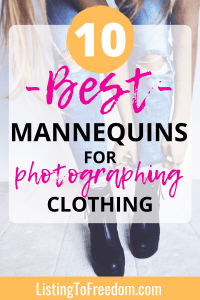 Best Mannequin For Clothing Photography