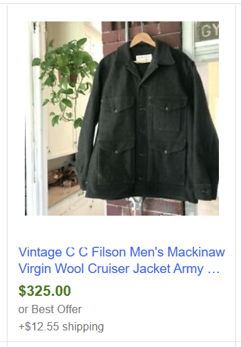 Filson Mackinaw
