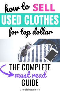 Sell Used Clothes