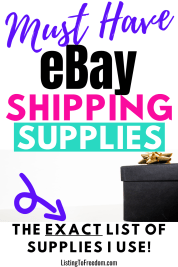 eBay shipping suppli