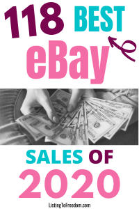Best eBay Sales of 2020