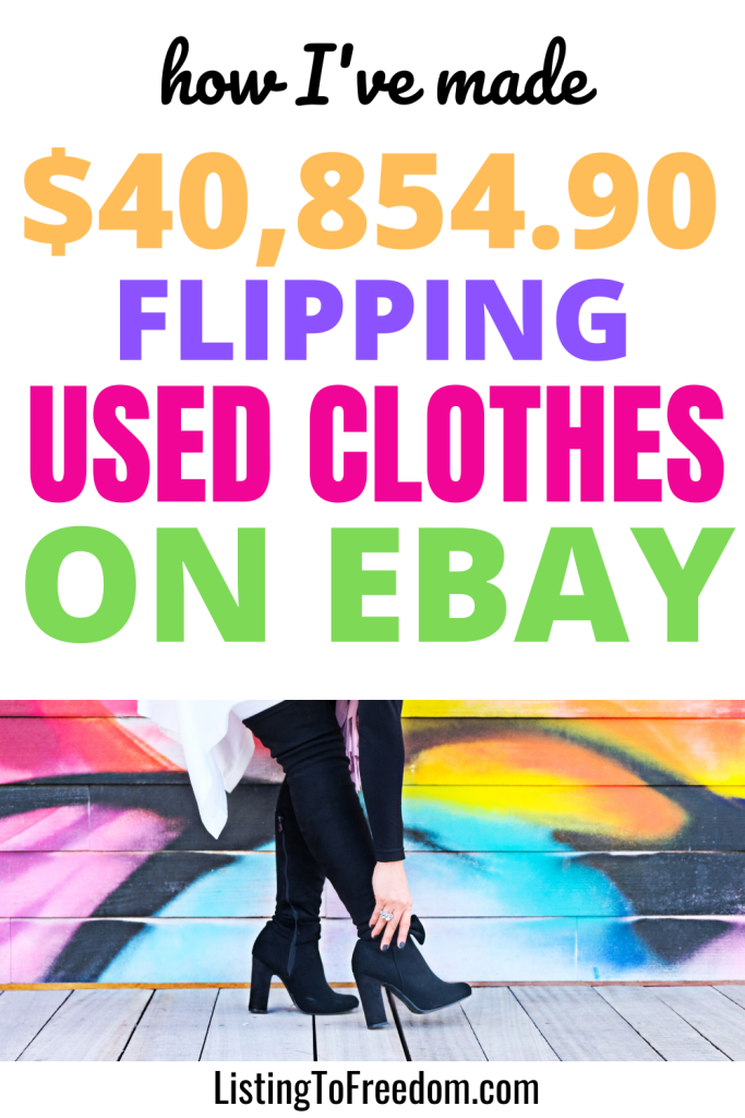 Selling Used Clothes On eBay