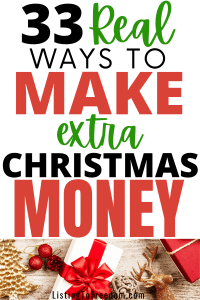 Make Extra Christmas Money