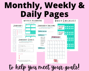 Pages Of Reseller's Planner