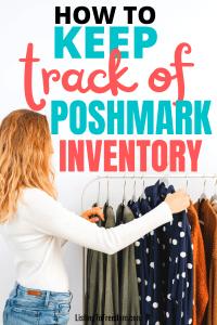 keep track of poshmark inventory
