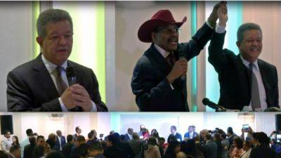 Ministros hispanos reciben a Leonel en El Bronx