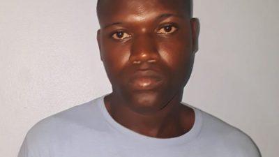 Nacional Haitiano es apresado luego de dispararle a otro con armas de fabricación casera