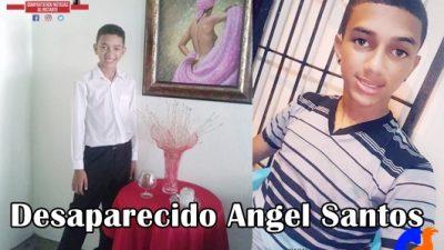 SE ENCUENTRA DESAPARECIDO ANGEL SANTOS ORIUNDO DE LOS PEPINES, SANTIAGO