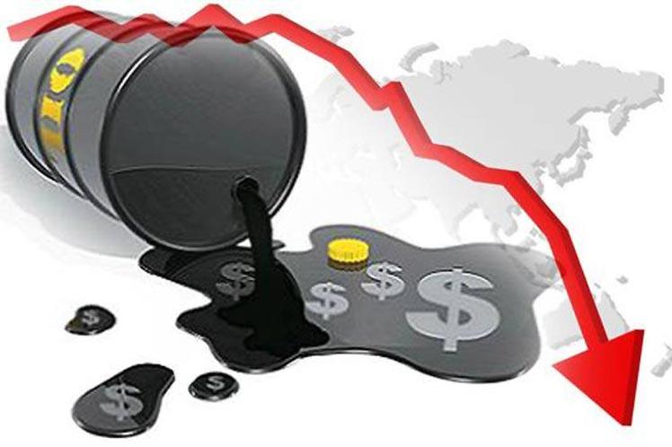 Descienden precios petroleros al cierre de jornada