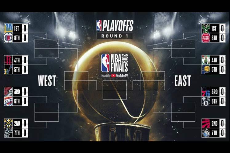 Comienzan los playoffs de la NBA con duelo Nets ante Sixers