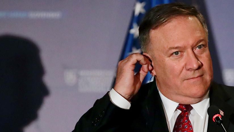 """Pompeo acusa a Rusia de """"intervenir"""" en Venezuela y recuerda que la opción militar de EE.UU. sigue sobre la mesa"""