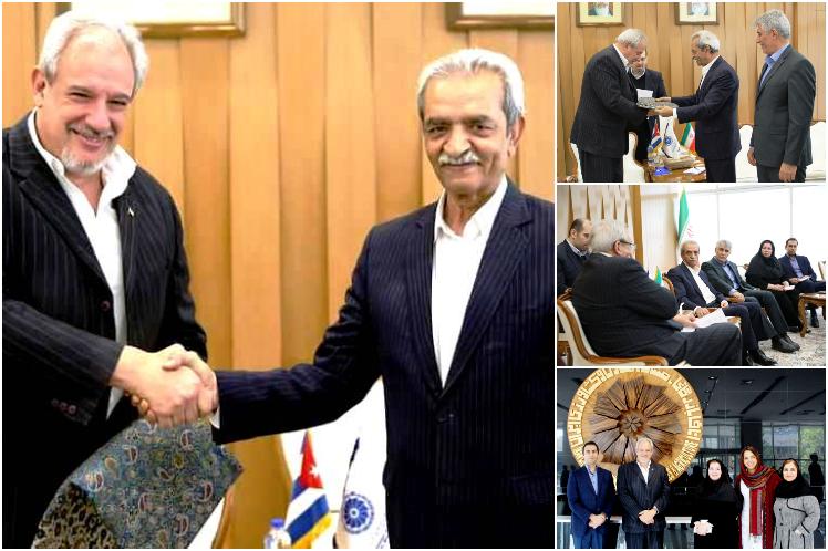Expresa Irán apoyo para promover negocios e inversiones con Cuba