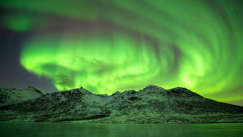 Intensas auroras boreales: Primeras señales de la tormenta solar que azota la Tierra