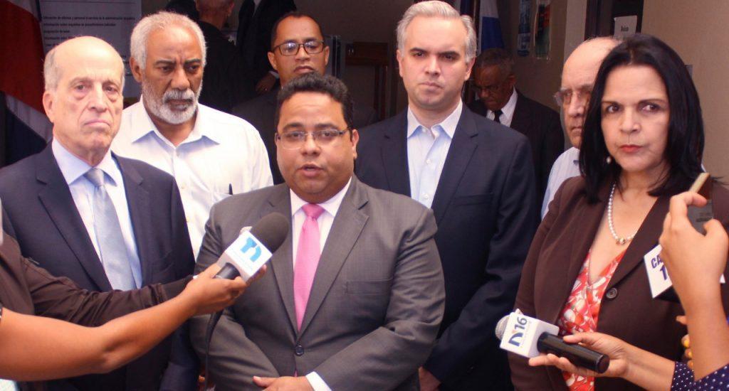 Partidos políticos elevan recurso de nulidad contra fallo de la JCE por voto de arrastre