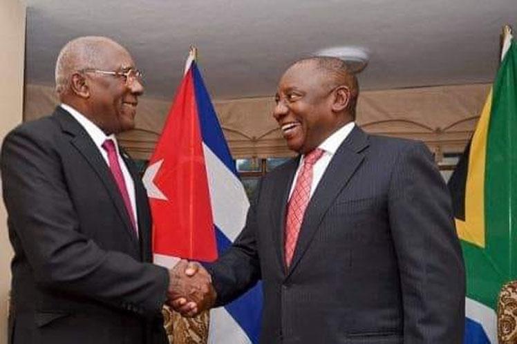 Prosiguen en Sudáfrica actividades de delegación cubana de alto nivel
