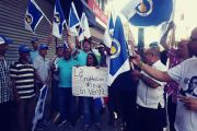 NUEVA YORK: Dominicanos protestan contra reforma permita reelección presidencial