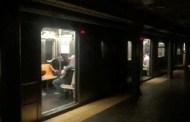 Primeras imágenes del metro de Nueva York afectado por el apagón