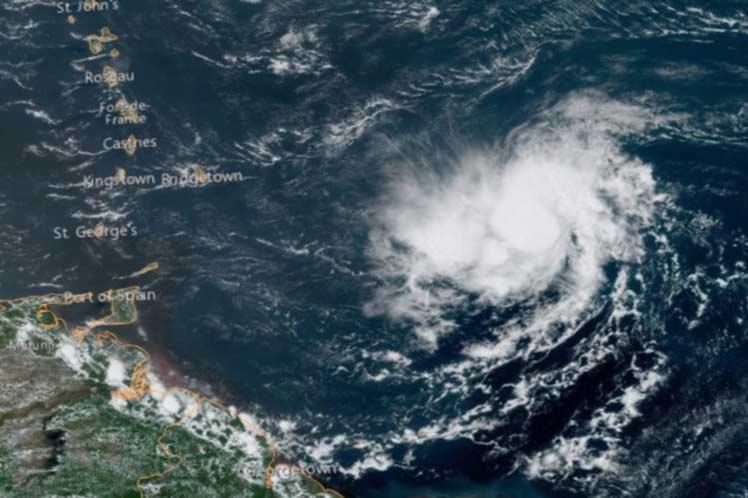 Alerta en Barbados y países caribeños por tormenta Dorian