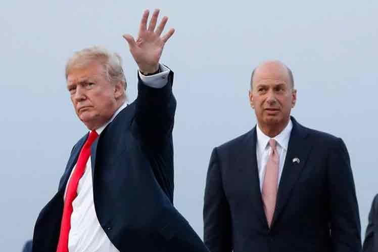 Impiden testimonio de embajador de EE.UU. en pesquisa sobre Trump