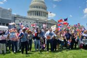 Dominicanos residentes en Washington advierten sobre peligros de la democracia en RD