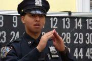 Hijo de dominicanos sordomudos es el primer oficial del NYPD en hablar por señas