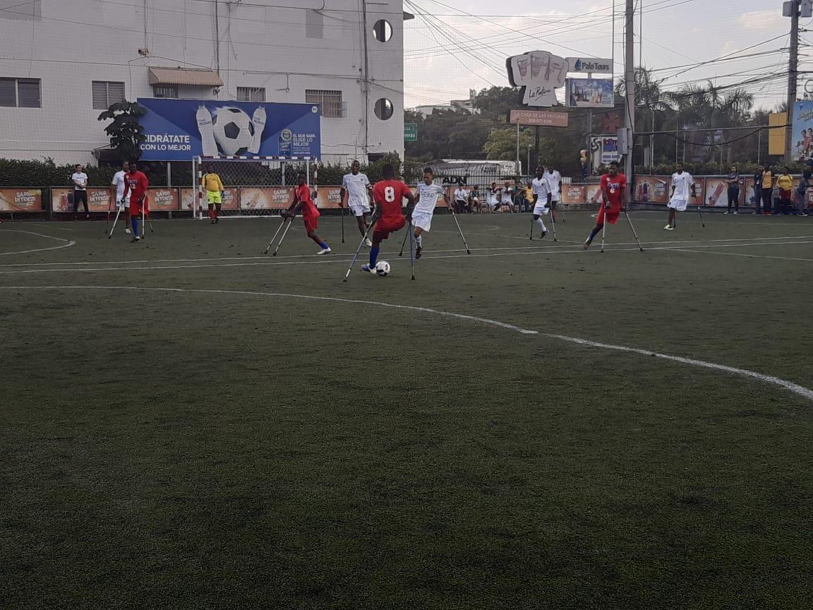 RD y Haití inicia primer torneo de fútbol para personas con discapacidad