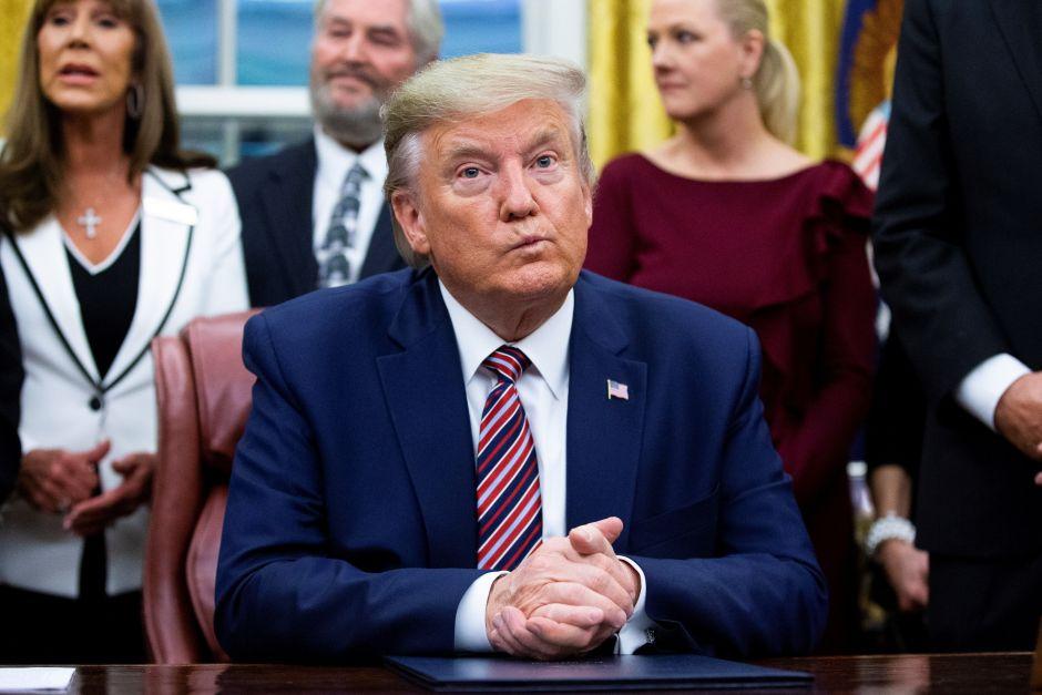 Trump causa indignación con tuit sobre Martin Luther King Jr.