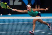 Jennifer Brady frena a Muguruza en cuartos de final en el torneo de Dubal