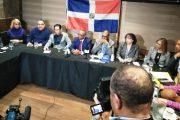 Partidos de oposición en Nueva York se suman a lucha por rescate de la Democracia en RD