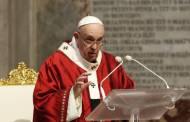 El papa pide evitar el pesimismo en la era del coronavirus