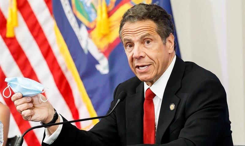 """NY anuncia un """"tremendo progreso"""" en la lucha contra el coronavirus"""