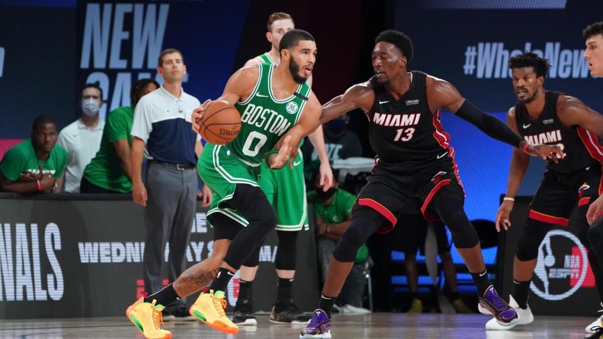 El Heat por el avance a la final de la NBA, Celtics tras empatar la serie