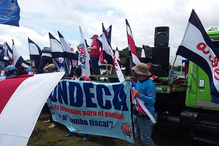 Rechazan en Costa Rica al FMI y políticas neoliberales