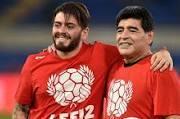 """La despedida de Diego Junior a Maradona: """"Papá, capitán de mi corazón, nunca vas a morir porque te amaré hasta el último respiro"""""""