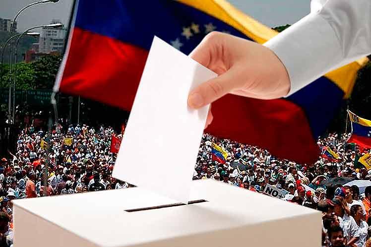 Recta final de ruta electoral en Venezuela
