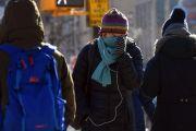 Nieve en Nueva York en una semana, pero el frío del vértice polar se intensifica